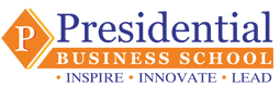 presidential business school logo