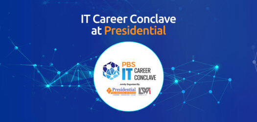 IT career conclave at presidential